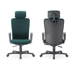 送料無料 オフィス家具オフィスチェア・肘付き 組立品 多機能チェア・ミーティングチェアチェア/椅子肘付き・ハイバック 素材・カラー選べます select-office