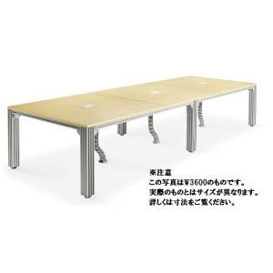 ミーティングテーブルTADテーブルシステムデスク(TAD-4812M1) カラー選べます  送料無料|select-office