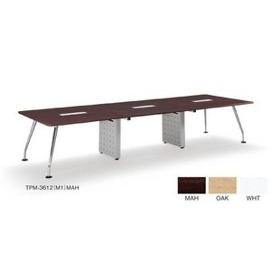 TPM-3612(M1)/AICOミーティングテーブルデスク/テーブル会議テーブル/大型テーブル お客様組み立て品 軒先渡し商品 カラー選べます  送料無料|select-office