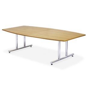 ミーティングテーブルWTテーブル会議テーブル ボート形 (WT-2412BM1) カラー選べます  送料無料|select-office