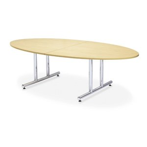 ミーティングテーブルWTテーブル会議テーブル タマゴ形 (WT-2412EM1) カラー選べます  送料無料|select-office