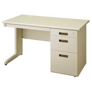 送料無料 片袖机 オフィスデスク(W1200 LCSシリーズ・S35557) お客様組立品 オフィス家具 机|select-office
