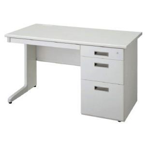 送料無料 片袖机 オフィスデスク(W1200 LCSシリーズ・S35558) お客様組立品 オフィス家具 机|select-office