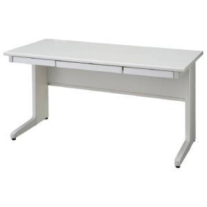 送料無料 平机 オフィスデスク(W1600 LCSシリーズ・S35562) お客様組立品 オフィス家具 机|select-office