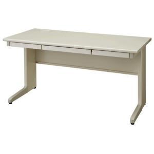 送料無料 平机 オフィスデスク(W1400 LCSシリーズ・S35563) お客様組立品 オフィス家具 机|select-office