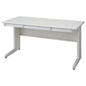 送料無料 平机 オフィスデスク(W1400 LCSシリーズ・S35564) お客様組立品 オフィス家具 机|select-office