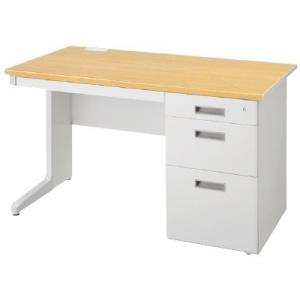 送料無料 片袖机 オフィスデスク(W1200 LCSシリーズ・S35632) お客様組立品 オフィス家具 机|select-office