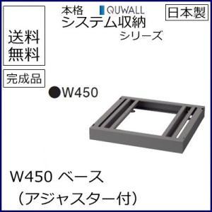 RG5-BB45  送料無料 RW5シリーズ ベース/W450 ベース(アジャスター付) オフィス家具/収納家具/キャビネット/書棚 スチール書庫//事務室用/SOHO select-office