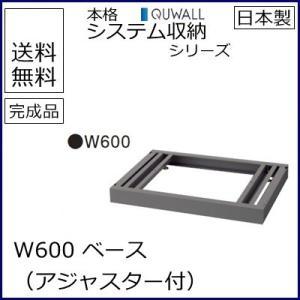 RG5-BB60  送料無料 RW5シリーズ ベース/W600 ベース(アジャスター付) オフィス家具/収納家具/キャビネット/書棚 スチール書庫//事務室用/SOHO select-office