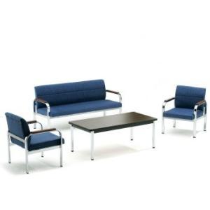 FO-40・45応接4点セット応接ソファー1点アームチェア2点テーブル1点 布張り・ソファーカラー選べます  送料無料|select-office