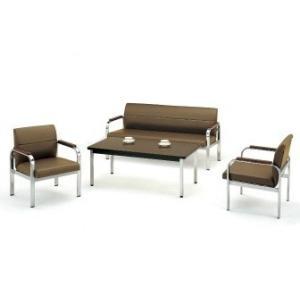 FO-40L・45L応接4点セット応接ソファー1点アームチェア2点テーブル1点 ビニールレザー・ソファーカラー選べます  送料無料|select-office
