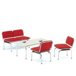 FUL-2・1応接4点セット2人掛け応接チェア1点チェア2点テーブル1点 布張り・ソファーカラー選べます  送料無料|select-office