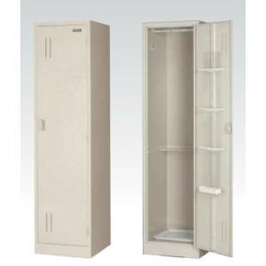 清掃道具入れ W455 スチール収納庫/スイッパー 地域限定設置サービス中 日本製 完成品 オフィス家具/収納家具/ロッカーオフィス家具/スチール収納 送料無料|select-office