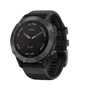 GARMIN fenix 6 Sapphire Black 010-02158-43 ガーミン フェニックス6 サファイアブラック GPSスマートウォッチ ウェアラブルデバイス buletooth|select-s432