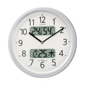 【CITIZEN正規品】 4FYA01-019 シチズン CITIZEN リズム 電波掛け時計 ネムリーナカレンダーM01|select-s432