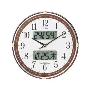 【CITIZEN正規品】シチズン CITIZEN リズム 電波掛け時計 ネムリーナカレンダーリブ 4FYA05-006 select-s432