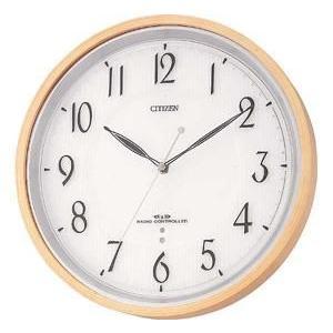 【CITIZEN正規品】シチズン CITIZEN リズム 電波掛け時計 ネムリーナM751 4MY751-007 select-s432