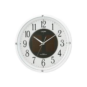 【CITIZEN正規品】シチズン CITIZEN リズム ソーラー電波掛け時計 エコライフM806 4MY806-003 select-s432