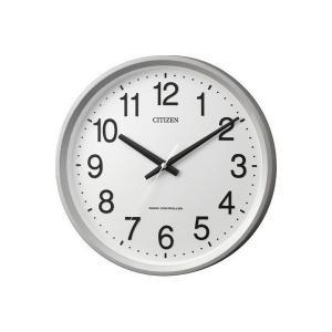 【CITIZEN正規品】 4MYA24-019 シチズン CITIZEN リズム 電波掛け時計  サークルポート|select-s432