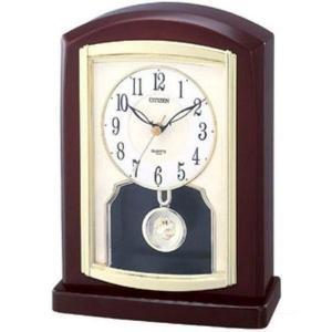 【CITIZEN正規品】シチズン CITIZEN リズム 置き時計 ペルディエムR785 4RP785-006|select-s432