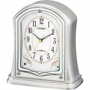 【CITIZEN正規品】シチズン CITIZEN リズム 電波置き時計 パルドリームR694 4RY694-019|select-s432