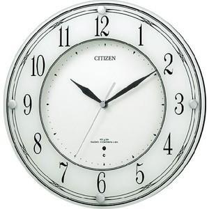 【CITIZEN正規品】シチズン CITIZEN リズム 電波掛け時計 ミレディレット 8MYA04-003 select-s432