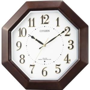 【CITIZEN正規品】シチズン CITIZEN リズム 電波掛け時計 ネムリーナエイト 8MYA17-006 select-s432