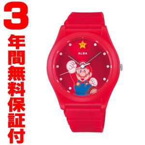 『国内正規品』 ACCK430 腕時計 スーパーマリオブラザーズ マリオモデル SEIKO セイコー ALBA アルバ  メンズ レディース|select-s432