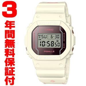 『国内正規品』 DW-5600PGW-7JR カシオ CASIO 腕時計 G-SHOCK G-ショック メンズ レディース PIGALLE ピガール コラボ 限定|select-s432