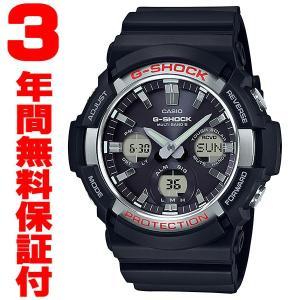 『国内正規品』 GAW-100-1AJF カシオ CASIO ソーラー電波腕時計 G-SHOCK G-ショック メンズ ブラック select-s432