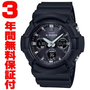 『国内正規品』 GAW-100B-1AJF カシオ CASIO ソーラー電波腕時計 G-SHOCK G-ショック メンズ ブラック|select-s432