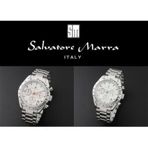 『国内正規品』 SM12135 Salvatore Marra サルバトーレ マーラ 腕時計 ウォッチ メンズ クロノグラフ メタル|select-s432