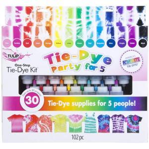 チューリップ ワンステップ絞り染め 15色簡単キット TULIP one-step tie-dye 15-Color Party Kit select-sgop-n