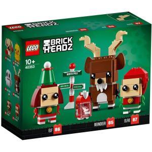 レゴ(LEGO)ブリックヘッズ シリーズ トナカイとエルフとエルフィー【40353】|select-sgop-n