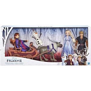 ディズニーアナと雪の女王2 そりアドベンチャードールパック 大型フィキュア(幅77cm) Disney Frozen select-sgop-n
