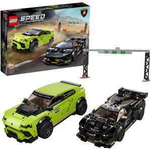 レゴ(LEGO) スピードチャンピオン ランボルギーニ ウルスST-X & ウラカン・スーパートロフェオ EVO 76899|select-sgop-n