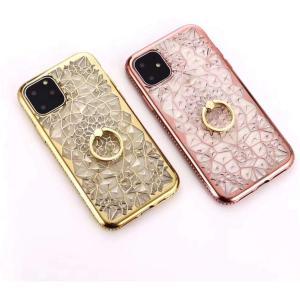 iPhone11 ケース iPhone11 カバー スマホケース  鮮やかクリアカラー クリスタル ...
