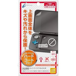 CYBER ・ 液晶保護フィルム [ ハードコートタイプ ] ( New 2DS LL 用) 【30日間交換保証】 [video game]|select-shop-rainbow