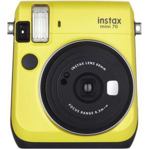 FUJIFILM インスタントカメラ チェキ instax mini 70 イエロー INS MINI 70N YELLOW|select-shop-rainbow