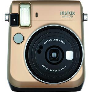 FUJIFILM インスタントカメラ チェキ instax mini 70 ゴールド INS MINI 70N GOLD|select-shop-rainbow