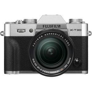 FUJIFILM ミラーレス一眼カメラ X-T30レンズキット シルバー X-T30LK-S|select-shop-rainbow