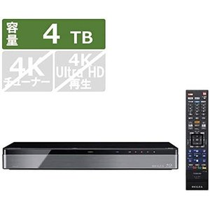 東芝 4TB HDD/3チューナー搭載 ブルーレイレコーダー(+7チャンネルまるごと録画可能) タイムシフトマシンTOSHIBA REGZA レグザブルーレイ DBR-M4008 select-shop-rainbow