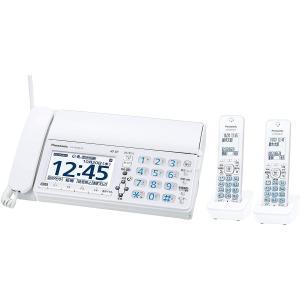 パナソニック デジタルコードレスFAX 子機2台付き 迷惑ブロックサービス対応 ホワイト KX-PZ620DW-W select-shop-rainbow