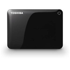 TOSHIBA CANVIO CONNECT ポータブルハードディスク 500GB USB3.0接続...