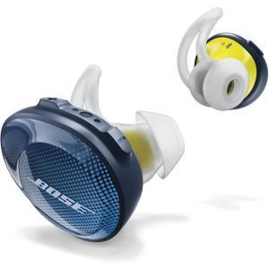 Bose SoundSport Free wireless headphones 完全ワイヤレスイヤホン ミッドナイトブルー/イエローシトロン select-shop-rainbow