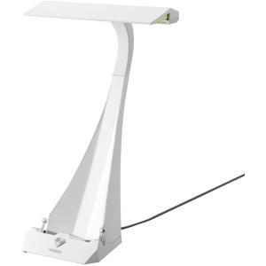 TWINBIRD ブックスタンド付LEDデスクライト Ucaled ホワイト LE-H842W|select-shop-rainbow