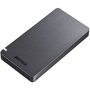 バッファロー SSD-PGM480U3-B USB3.2(Gen2) ポータブルSSD 480GB ブラック select-shop-rainbow