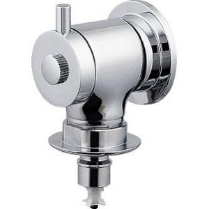 洗濯機用水栓(ストッパーつき) 721-606 カクダイ 蛇口 水道 逆流防止 水道