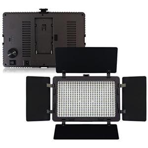 LED 撮影 照明 カメラ ライト/ビデオライト 大光量 2000ルーメン ACアダプター付 (41...