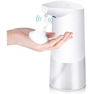 【最新版】ソープディスペンサー 泡 自動 ハンドソープ 自動感知センサー ハンドソープディスペンサー...